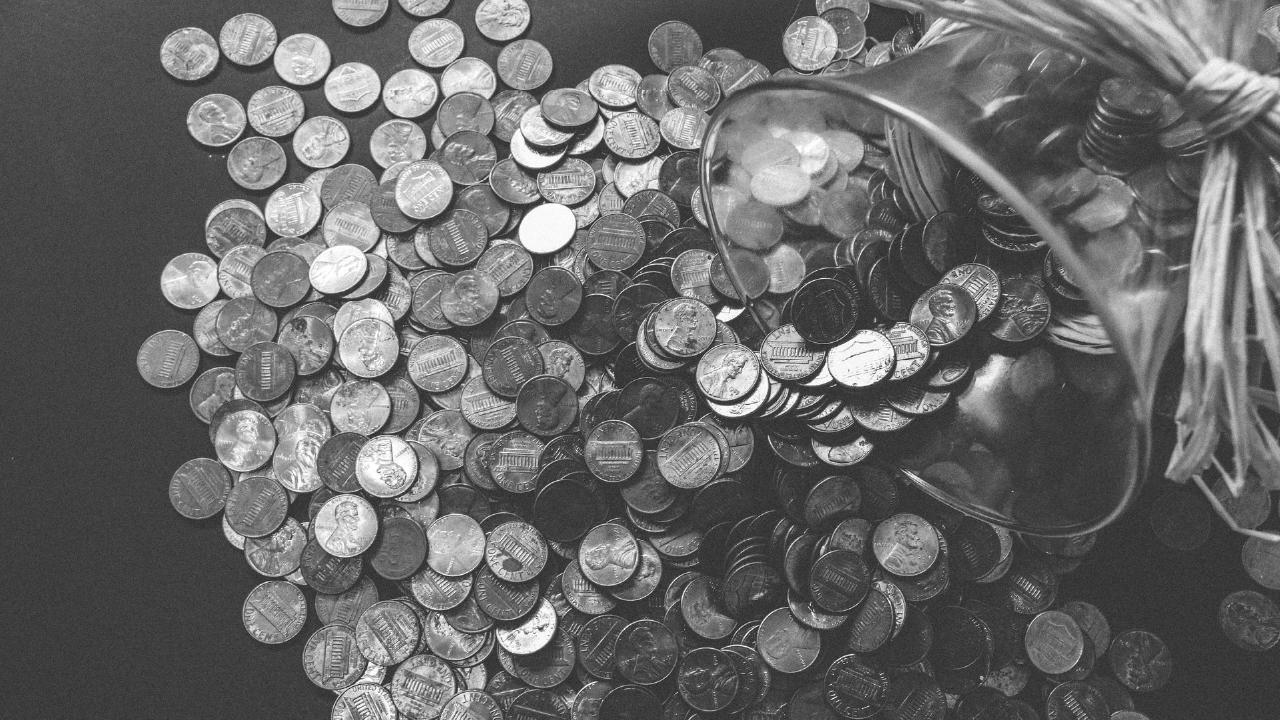白黒のコイン