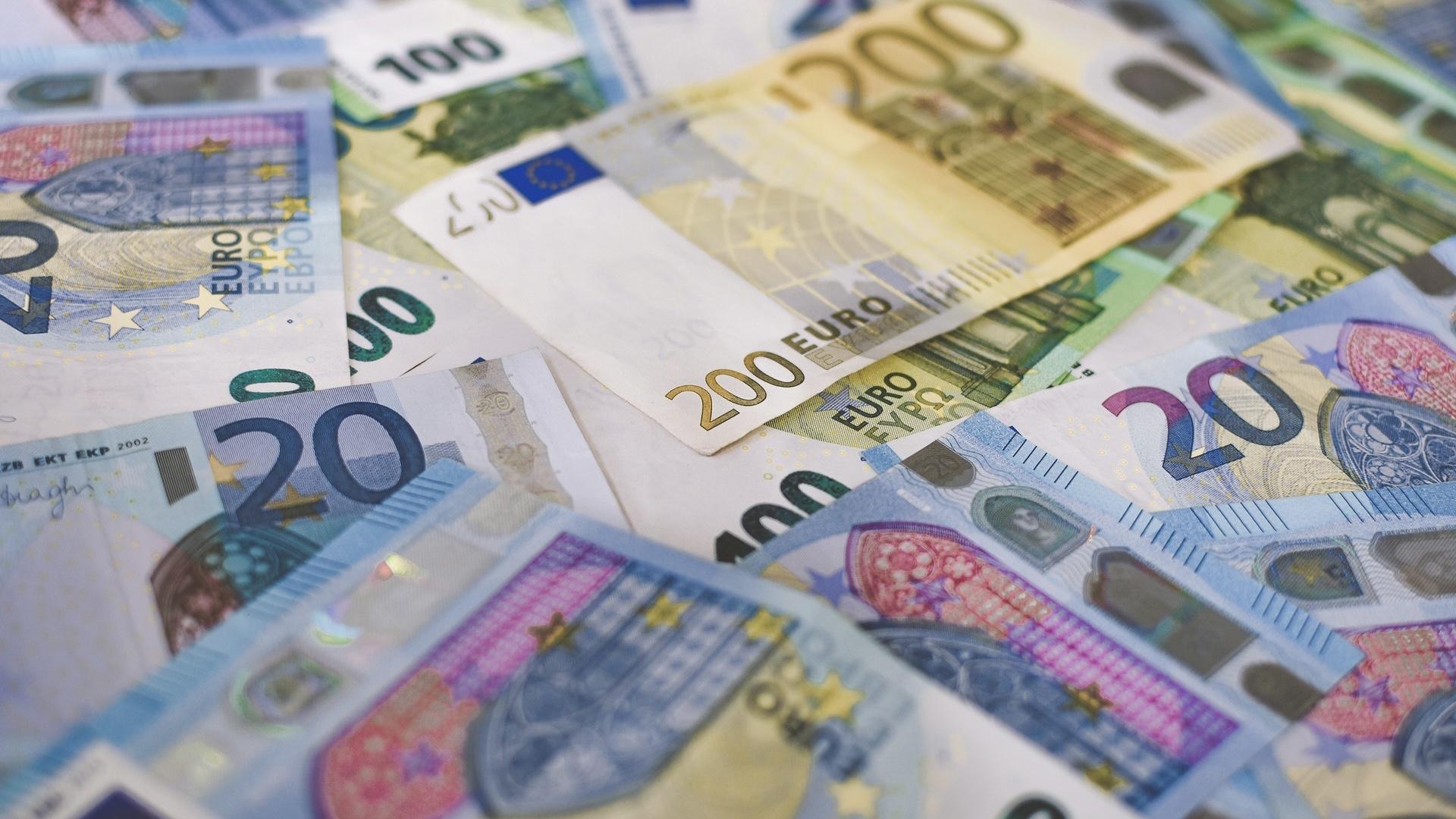 EUROのお札
